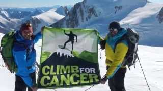 Mont Blanc - Climb for Cancer (2014)