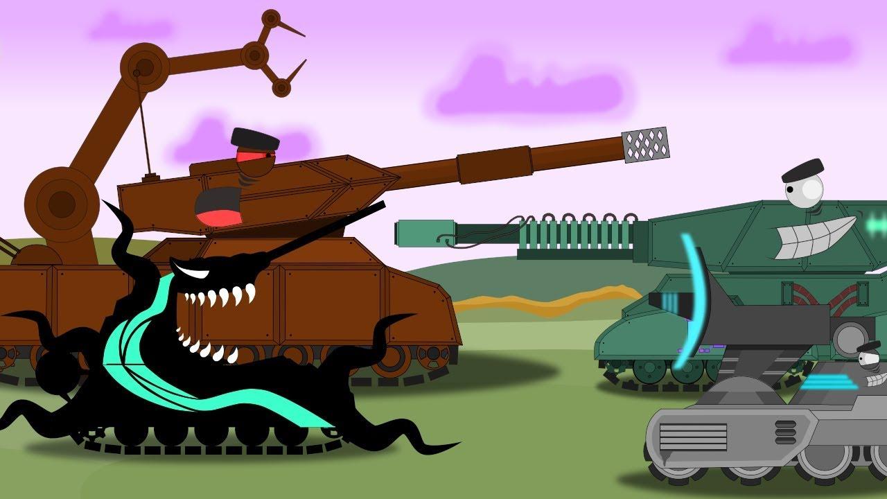 Смотреть все мультики про танки подряд новые серии. Весь 2 й сезон - Мультики про танки
