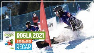Rogla | Recap | FIS Snowboard Alpine World Championships 2021