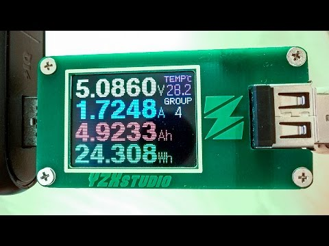 #39: ZY1270 USB Power Meter von YZXstudio