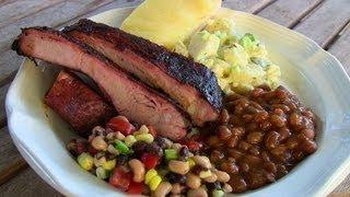 Smoked Pork Ribs On The Wsm -- Texas Bbq Recipe