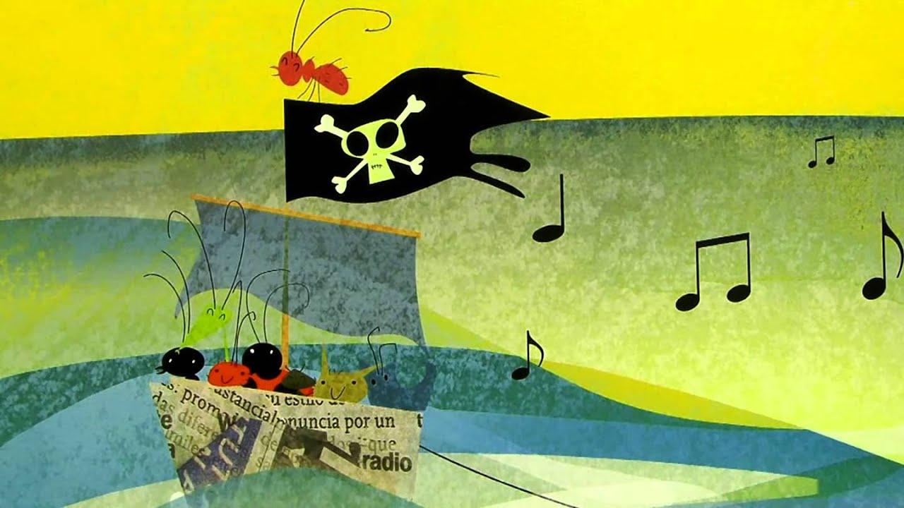 Un barco muy pirata\