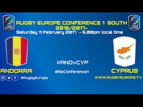 REPLAY ANDORRA CYPRUS RUGBY EUROPE CONFERENCE 1