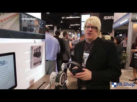 Audio-Technica ATH-MX Headphones - PA Shop At NAMM 2014