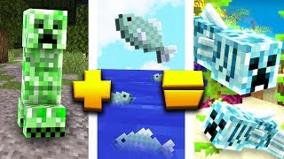 THE MINECRAFT FISH CREEPER??? THIS IS A THING.