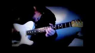Deep Purple - Guitar Main Riff Lesson - Knocking on Your Back Door