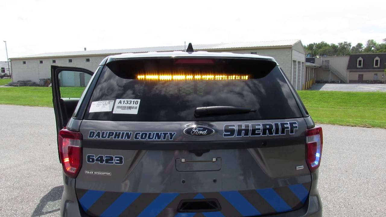 Dauphin County Sheriff's Dept  2017 Utility