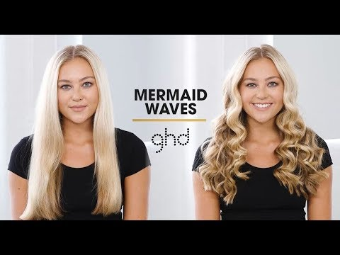 Mermaid Waves Ghd Hairstyle How To Youtube