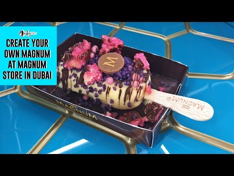 UAE's First Magnum Bar Comes To The Mall Of Emirates | Curly Tales