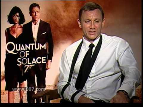Daniel Craig interview Bond 007 Quantum of Solace with Carrie Keagan
