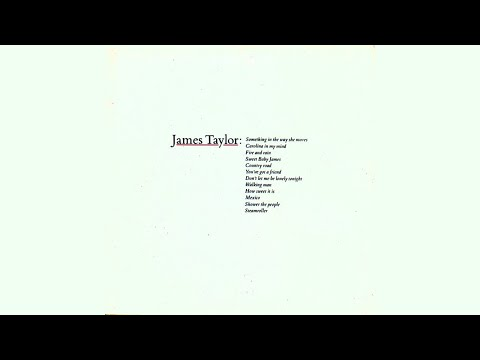 James Taylor - Carolina In My Mind (Official Audio)