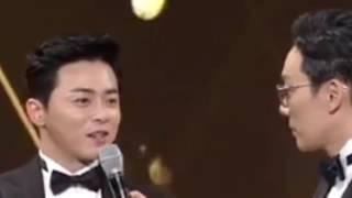SBS 연기대상 이휘재 조정석 무례 논란(?)