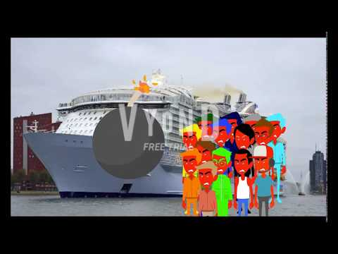 14 Evils Destroys Harmony Of The Seas Cruise Ship Gets Arrested