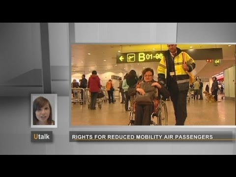 euronews U talk - Rights for disabled flight passengers