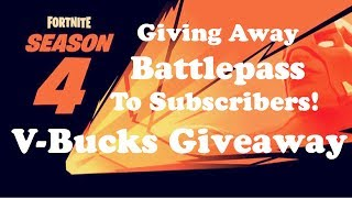 Fortnite 50 v. 50//Free V-Bucks Giveaway Ends Today!! //Fortnite Battle Royale on PS4
