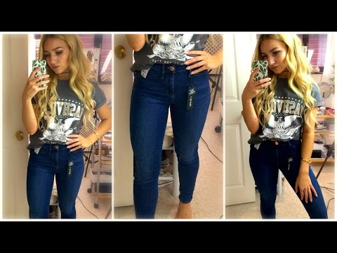 I'VE FINALLY FOUND JEANS THAT FIT PETITE GIRLS! EXTRA SHORT / RIVER ISLAND