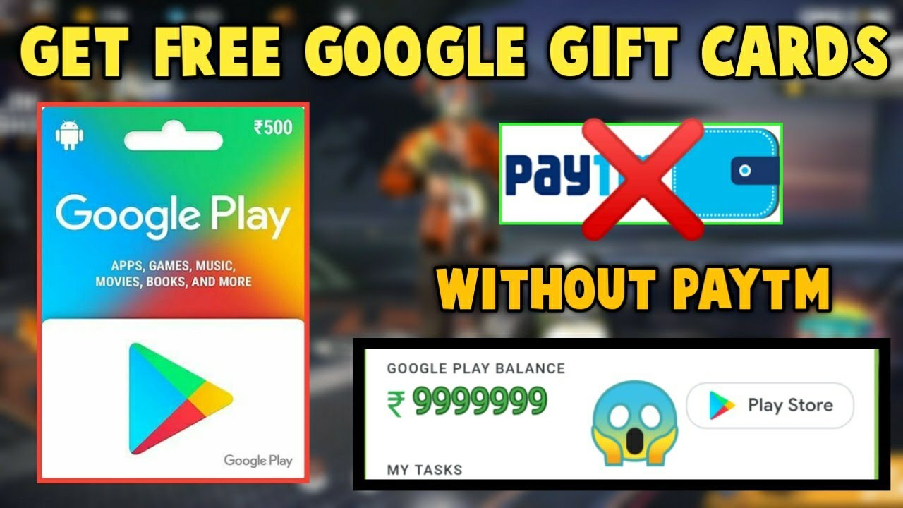 How To Get Free Google Play Giftift Cards in 2020 || Get ...