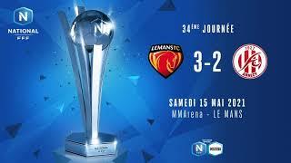 J34 | Le Mans FC - FC Annecy (3-2)