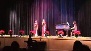 "Allie Lord and Janna Lord sing ""Oh Holy Night"""
