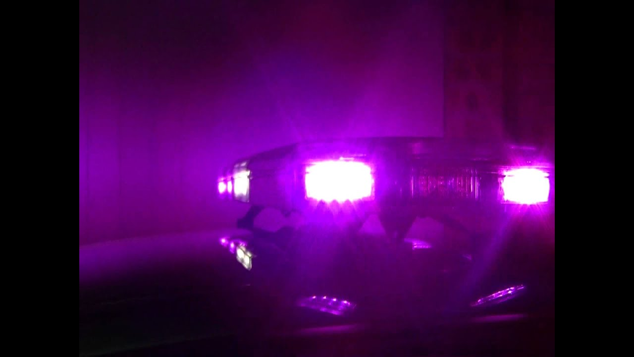 Prolific Systems Magenta Led Lightbar Covert