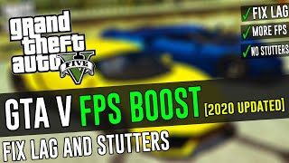 🔧Boost FPS and Fix Lag in Grand Theft Auto 5 ✅ Updated 2020 |GTA 5 Epic Games Launcher Lag Fix 2020|