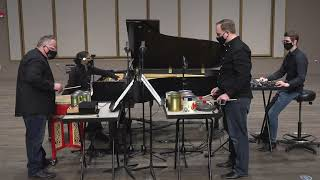 """""""Credo in US"""" (1942) by John Cage performed by Quey Percussion Duo, Christine Delbeau, Gage Kroljic"""