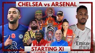 Chelsea vs Arsenal | Starting XI Live