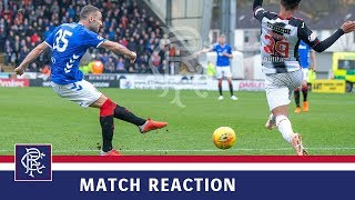REACTION | Eros Grezda | St Mirren 0-2 Rangers