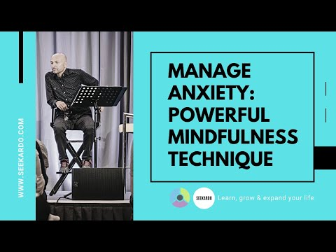 Use this powerful mindfulness technique to manage anxiety