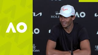 "Rafael Nadal: ""I tried my best in every moment"" press conference (QF) 