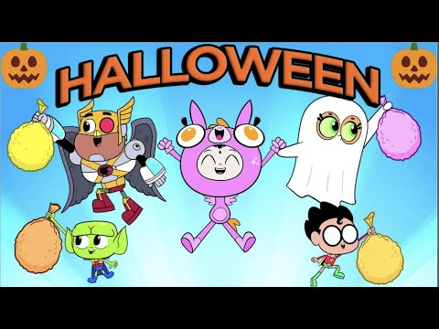 Teen Titans Go! en Latino   Se acerca Halloween 🎃   DC Kids