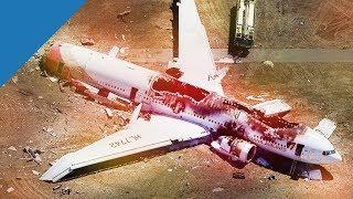 Flugzeugabsturz Simulation (Reportage)