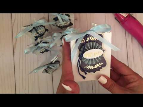 Tea Bag Favors: Craft Fair/Holiday Boutique Idea with Tutorial
