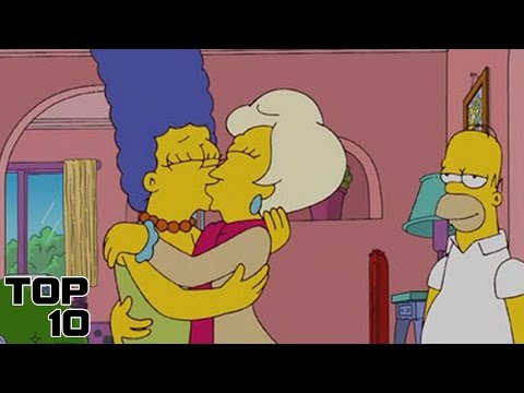 Top 10 Inappropriate Moments On The Simpsons