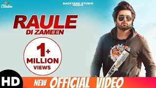 Raule Di Zameen (Official Lyrical Video) NINJA | Pardeep Malak | Mr. V Grooves | Latest song 2018