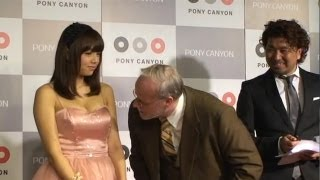 2012年9月19日(木)発売!】 アイドルの篠崎愛氏を記者発表に呼んだポッ...