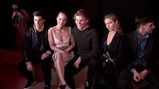 Jordan Barrett, Lucky Blue Smith, Sofia Boutella and more front row for the Roberto Cavalli Show