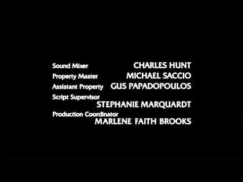 Ending Credits From Law & Order Special Victims Unit