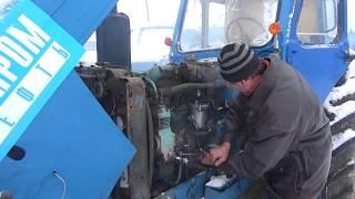 Трактор мтз 50 трудный пуск с пускача