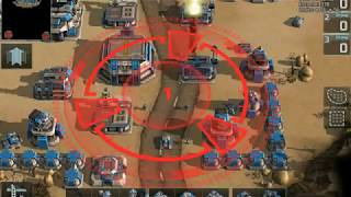 Art of War 3 - nuclear weapon test (true mobile classic RTS game)