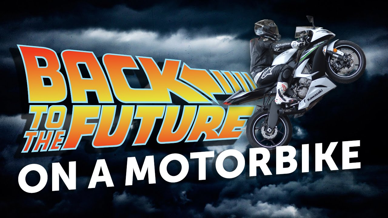 Back To The Future On A Motorbike