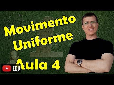 Movimento Uniforme I - CINEMÁTICA - Aula 4 - Prof. Marcelo Boaro