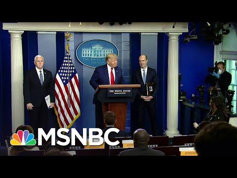 Trump Blames World Health Organization For His Coronavirus Response | The Last Word | MSNBC