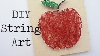 How to- DIY - String Art