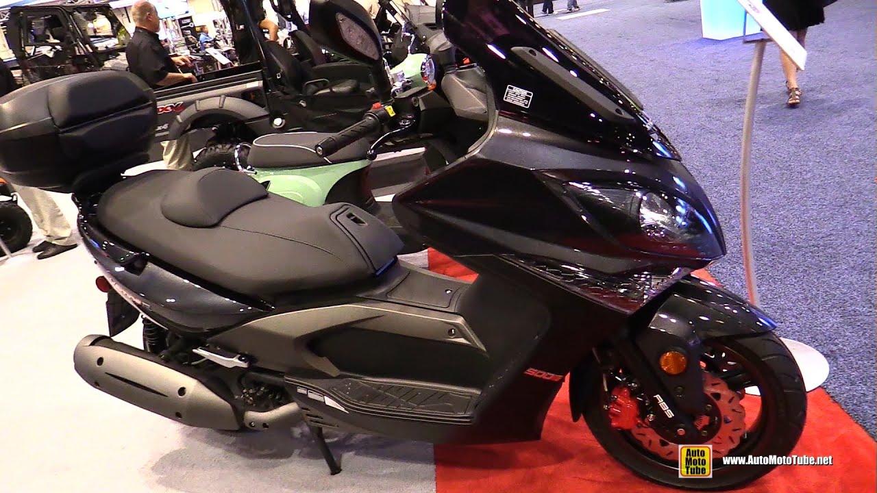 2016 Kymco Xciting 500Ri ABS Scooter - Walkaround - 2015 ...