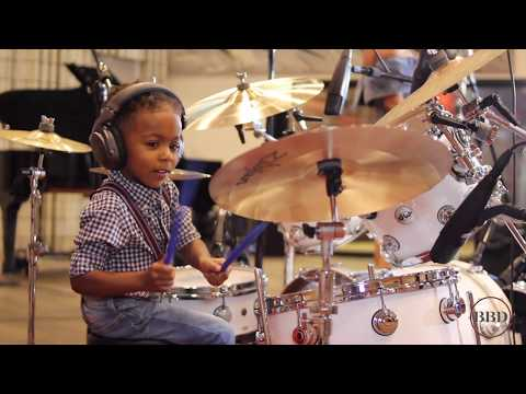 LJ's World - ABC Jam [Official Video] | Amazing 3 year old kid drummer