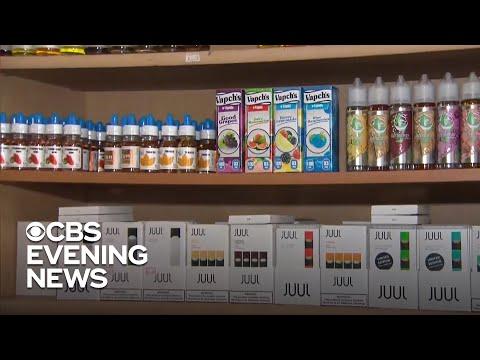 Trump to propose ban on flavored e-cigarettes