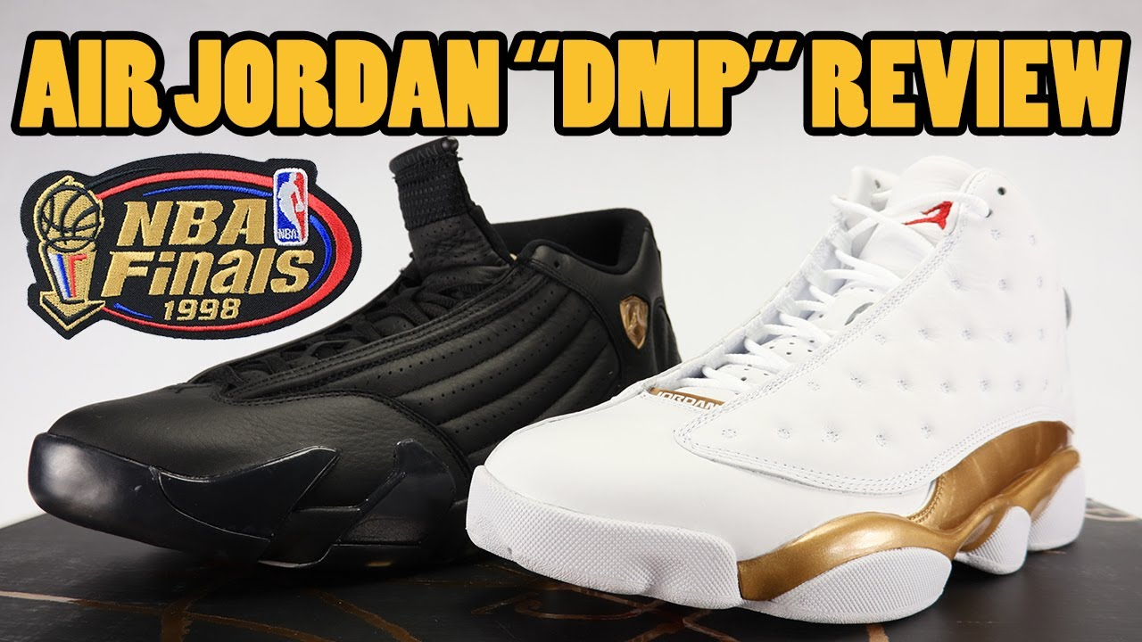 size 40 a7444 888e5 Air Jordan 13 14 DMP Defining Moments Finals Pack 2017 Review + Unboxing
