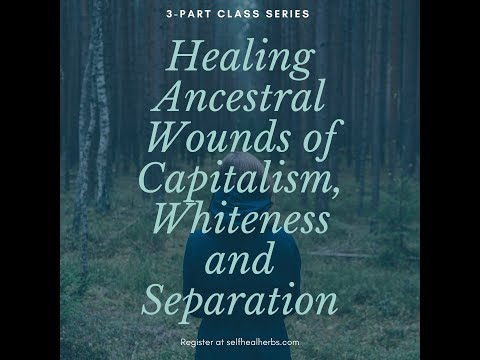 Healing Ancestral Wounds of Capitalism, Whiteness and Separation: Class 2 -- The Earth