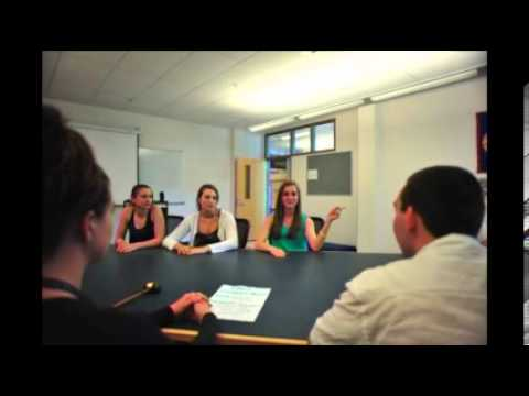 Sanborn Regional High School's Justice Committee